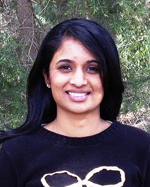 Colour photograph of Arti Narayan